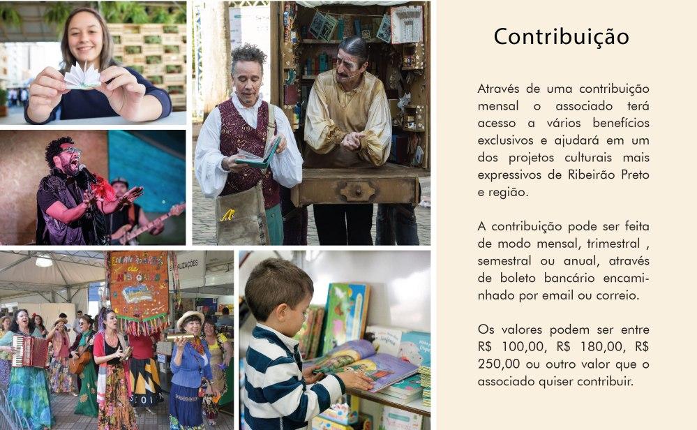 Contribuição Clube do Livro e Leitura