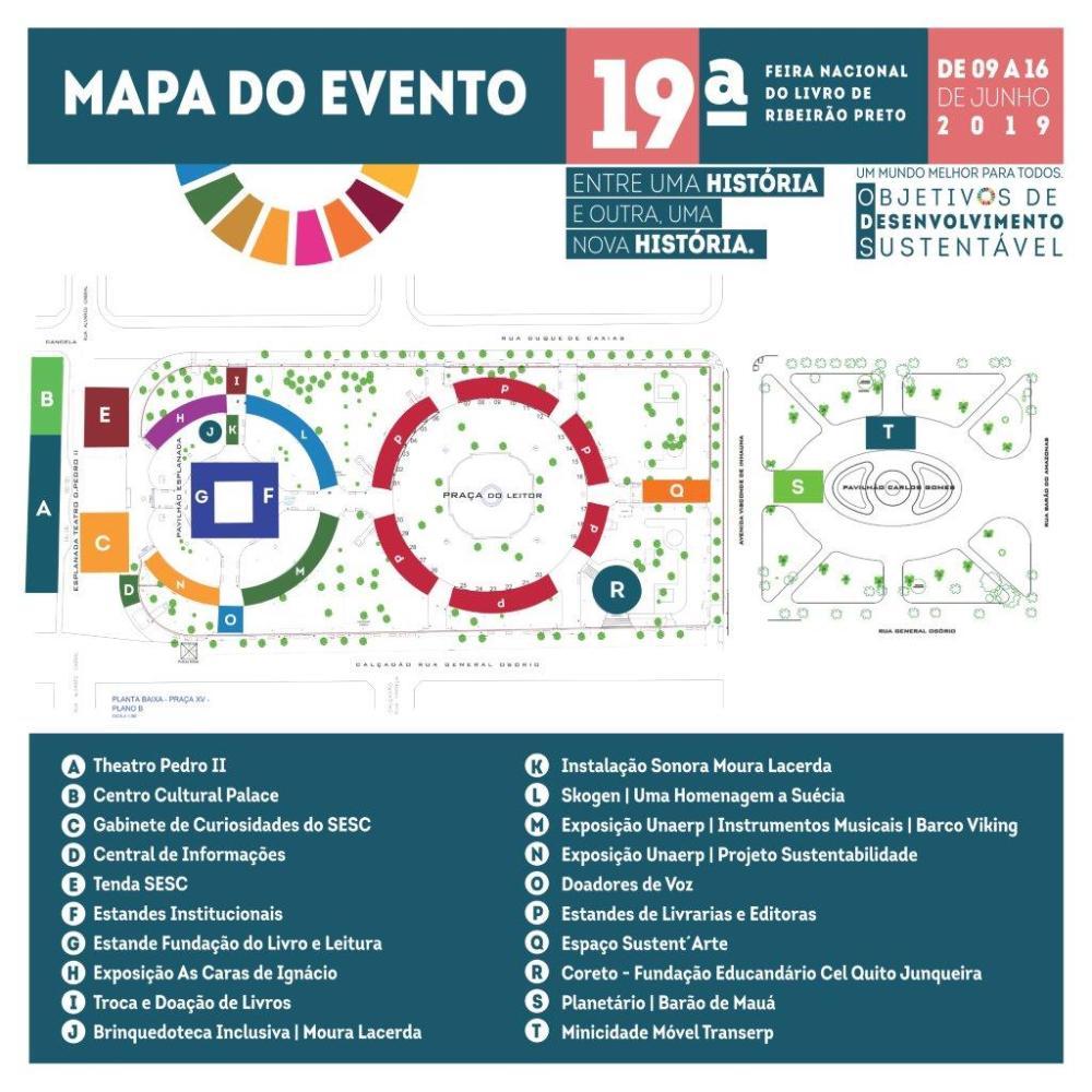 34 - 1,95 x 1,95m - Mapa do evento